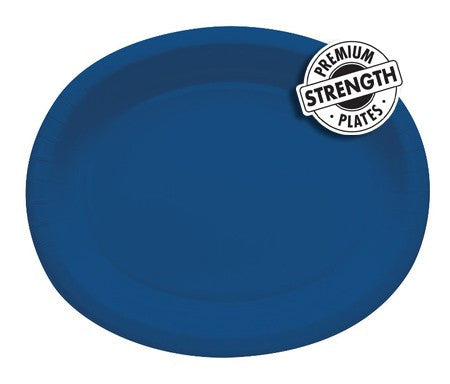 True Blue 10 x 12 inches Oval Platters - nyea's Party Store