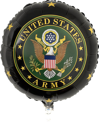 "US Army 18"" Mylar Balloon"