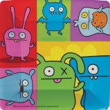 Ugly Dolls 10in Square Plates - nyea's Party Store