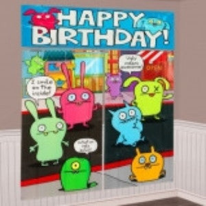 Ugly Dolls Giant Wall Decorating Kit - nyea's Party Store