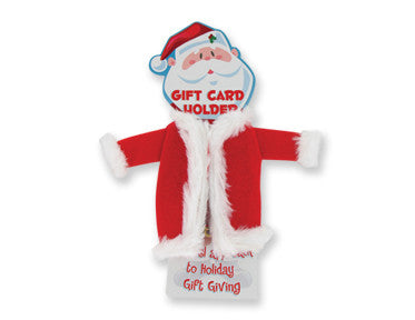 Santa Suit Gift Card Holder - nyea's Party Store