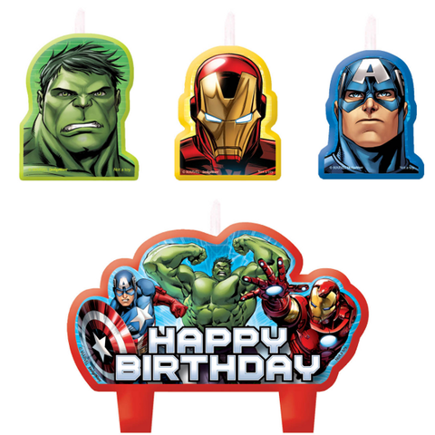 Avengers Bday Candles - nyea's Party Store