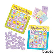 """Baby Shower Bingo"" Game - Nyea's Party Store"