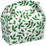 Gable Christmas Treat  Box - nyea's Party Store