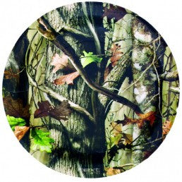 Next Camo Round Plates - nyea's Party Store