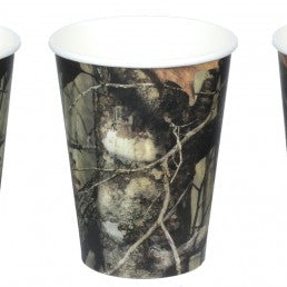 Next Camo 12oz Cups - nyea's Party Store