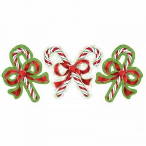 Candy Cane Cutout Christmas - nyea's Party Store