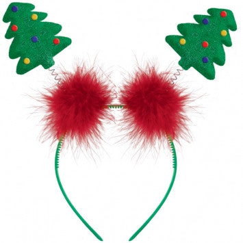 Christmas Tree Bopper Headband - nyea's Party Store