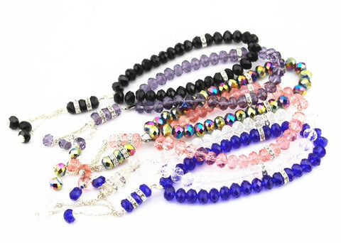 Crystal Prayer Beads - nyea's Party Store