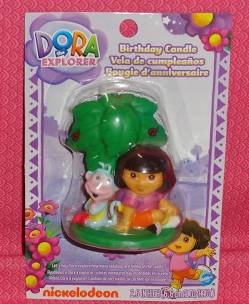 Dora Birthday Candle