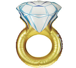 "37"" Large Ring Shaped Foil Balloon"