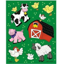 Farm Friends Sticker Sheets