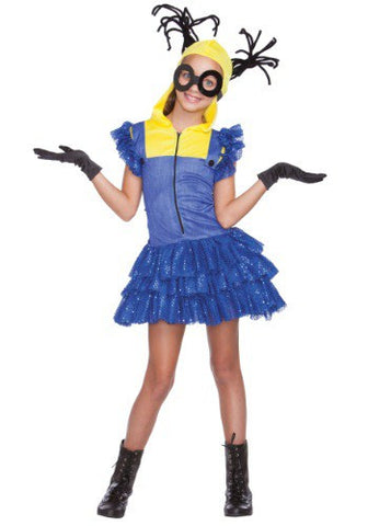 Girl's Evil Master Helper Costume - Halloween - nyea's Party Store