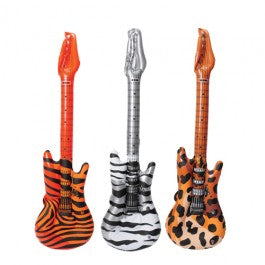 "40"" Inflatable safari rock guitar Favors"
