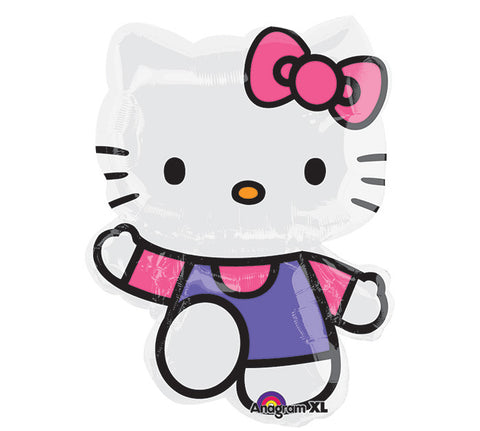 "30"" Hello Kitty Foil Balloon - nyea's Party Store"