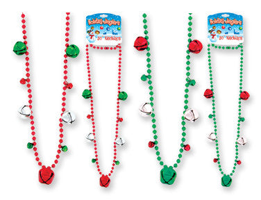 Holiday Jinglers 30 Inch Necklace - nyea's Party Store