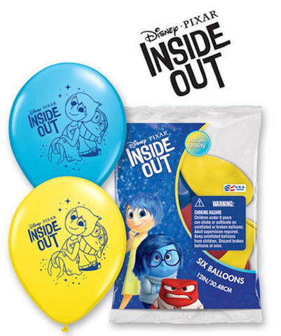 "12"" Inside Out Latex Balloons"
