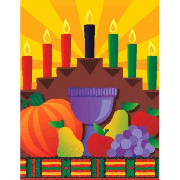 Kwanzaa Paper Tablecover - nyea's Party Store