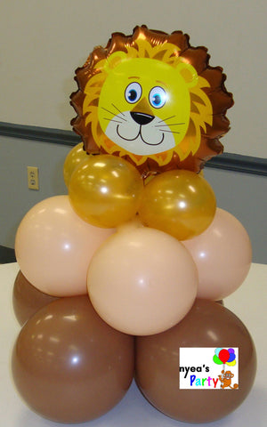 Safari Animal Head Centerpiece - nyea's Party Store    - 2