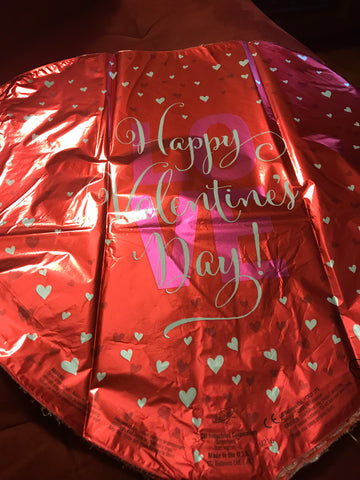 "18"" Happy Valentines Day Love Foil Balloon #540"