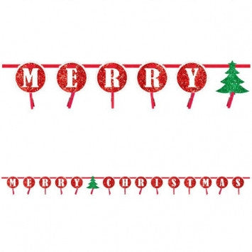 Christmas Cardholder Garland - nyea's Party Store