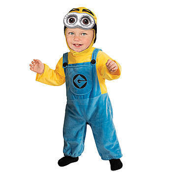 Minion Dave Halloween Costume- Child-Pant Suit - nyea's Party Store