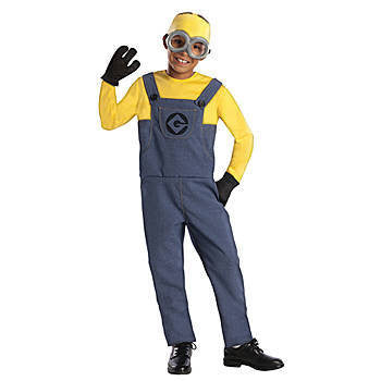 Minion Dave Halloween Costume- MED - nyea's Party Store