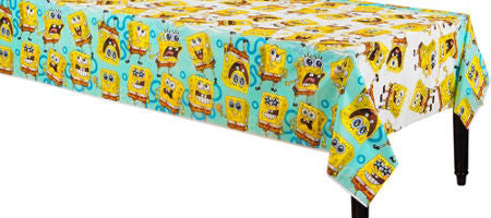 Spongebob Plastic Tablecloth - nyea's Party Store