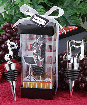 Music Themed Bottle Stopper - nyea's Party Store