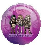 "18"" Bratz Happy Birthday Foil Balloon"