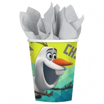 ©Disney Olaf 9 oz. Cups - Frozen - nyea's Party Store