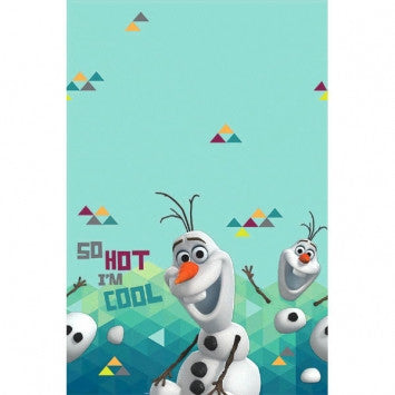 Frozen Olaf Tablecover - nyea's Party Store