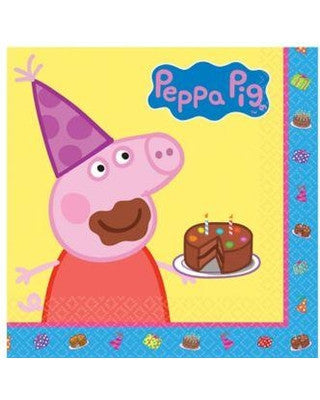 Lunch Napkin Peppa Pig - nyea's Party Store