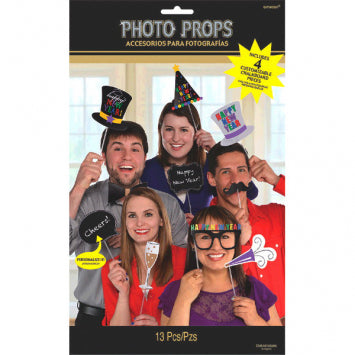 NEW YEARS Photo Prop Kit