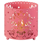 Decorative Pierced Ambiance Tea Light Candle Holders - nyea's Party Store    - 2