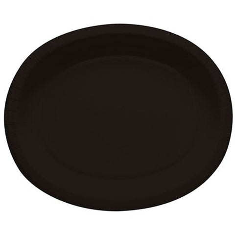 10 x 12 inches Oval Paper Platter - Solid - Nyea's Party Store