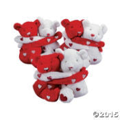 Hugging Valentines Day Bears - nyea's Party Store