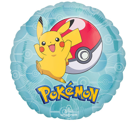 "17""  POKEMON Foil Balloon"