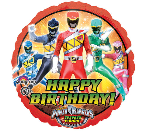 "17"" Power Rangers Foil Balloon - nyea's Party Store"