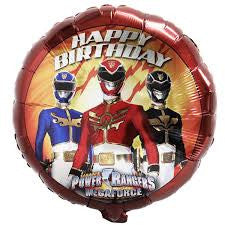 "18"" Power Rangers Birthday Foil Balloon"