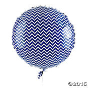 Purple Chevron Mylar Balloons - nyea's Party Store