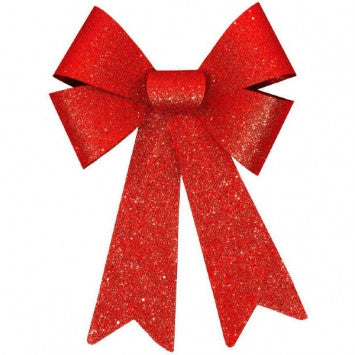 Holiday Glitter Bow - nyea's Party Store    - 1