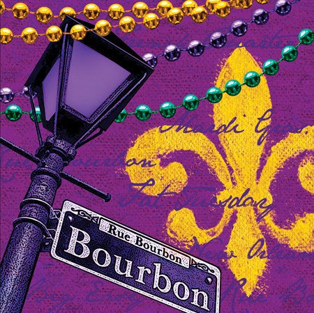 Rue Bourbon Napkins - nyea's Party Store