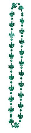 Shamrocks Bead Necklace - nyea's Party Store