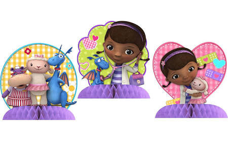 Doc McStuffins Tabletop Decorations - nyea's Party Store