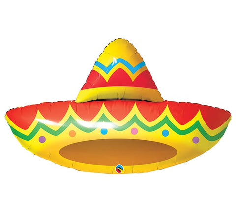 "41""  SOMBRERO SHAPE Foil BALLOON"