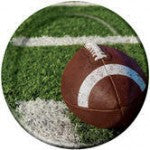 Tailgate Football - 9 Inch Dinner Plates - nyea's Party Store