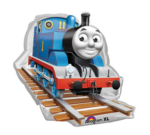 "29"" Thomas The Tank Engine Balloon - nyea's Party Store"