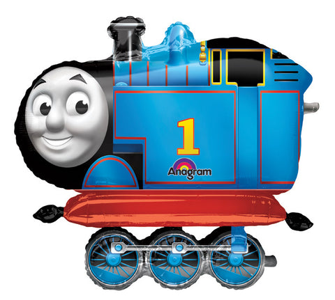 "36"" Thomas The Tank Airwalker Balloon - nyea's Party Store"