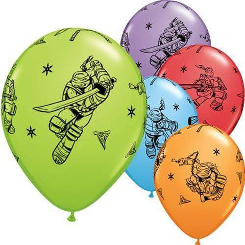 "12"" Teenage Mutant Ninja Turtles Latex Balloons"